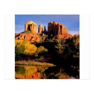 Canyon Cathedral Rock Sedona Postcard