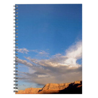 Canyon Clouds Grand Note Book