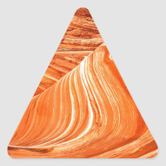 Canyon Colorado Plateau Paria Utah Triangle Sticker