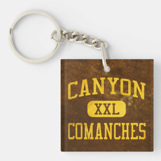 Canyon Comanches Athletics Keychain