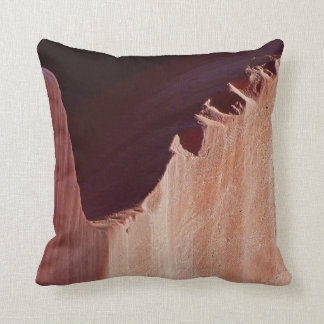 Canyon Crosscut Square Southwest Abstract Pillow