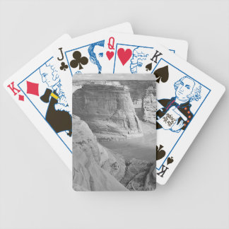 Canyon de Chelly Arizona by Ansel Adams Bicycle Playing Cards