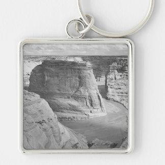 Canyon de Chelly Arizona by Ansel Adams Key Chains