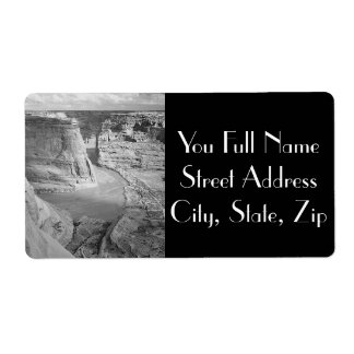 Canyon de Chelly Arizona by Ansel Adams Label