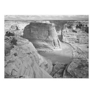 Canyon de Chelly Arizona by Ansel Adams Photograph