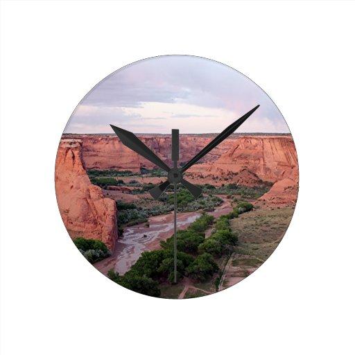 Canyon de Chelly, Arizona, Southwest USA 1 Round Wall Clocks
