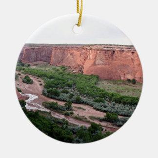 Canyon de Chelly, Arizona, Southwest USA 2 Ceramic Ornament