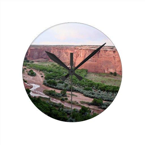 Canyon de Chelly, Arizona, Southwest USA 2 Wall Clocks