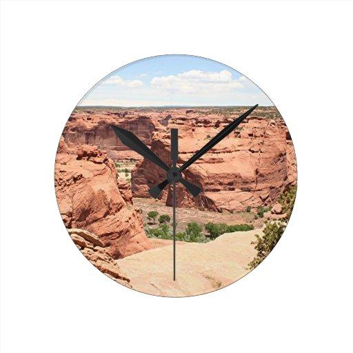 Canyon de Chelly, Arizona, Southwest USA 4 Wall Clocks