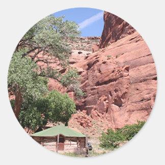 Canyon de Chelly, Arizona, Southwest USA 5 Classic Round Sticker