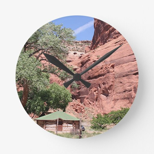 Canyon de Chelly, Arizona, Southwest USA 5 Round Wall Clocks