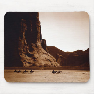 Canyon de Chelly Navajo by E. S. Curtis 1904 Mouse Pad
