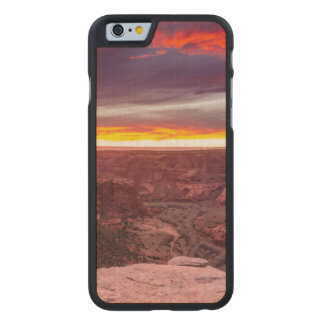 Canyon de Chelly, sunset, Arizona Carved Maple iPhone 6 Slim Case