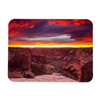 Canyon de Chelly, sunset, Arizona Magnet