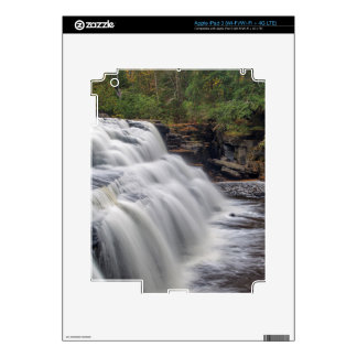Canyon Falls On The Sturgeon River Near L'Anse Decals For iPad 3