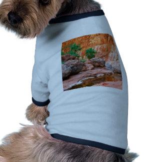 Canyon Hidden Oasis El Cajon Baja Mexico Doggie T Shirt