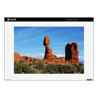 canyon lands balanced rock skin for laptop
