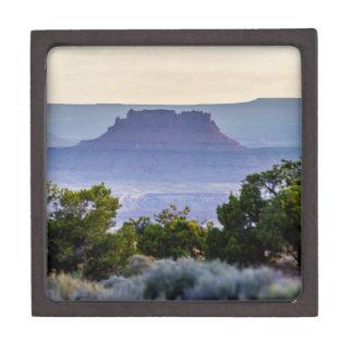 Canyon lands sunset in Utah Gift Box