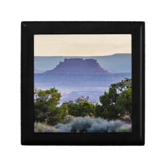 Canyon lands sunset in Utah Jewelry Box