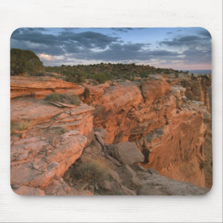 Canyon overlook in the Island in the sky Mouse Pad