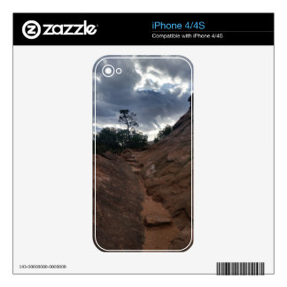 Canyon Overlook Trail Zion National Park iPhone 4 Decal