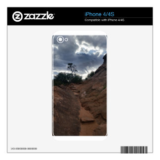 Canyon Overlook Trail Zion National Park iPhone 4S Decal
