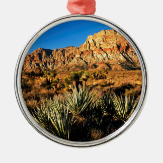 Canyon Red Rock Nevada Metal Ornament