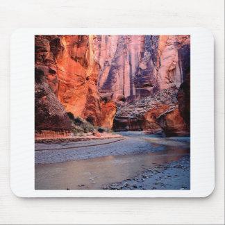 Canyon River Bend Paria Mousepads