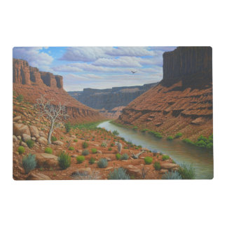 Canyon River Placemat