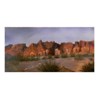Canyon Scenery In Texas Poster