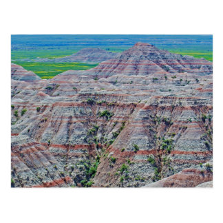 """Canyon Stripes"" collection Postcard"