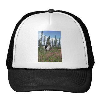 Canyon Village cache on the Porcupine River Trucker Hat