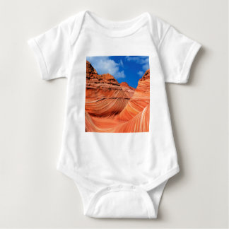 Canyon Wave Paria Vermilion Ss Baby Bodysuit