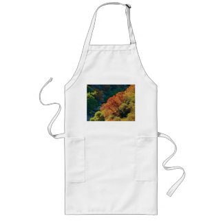 CANYON WITH TREES IN THE FALL LONG APRON