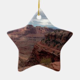 Canyonlands Adorno De Cerámica En Forma De Estrella