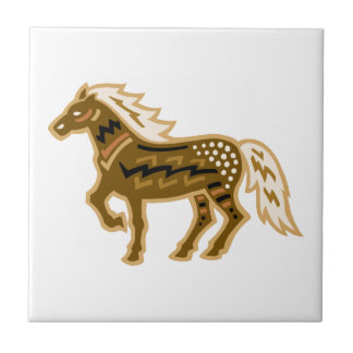 Canyonlands Horse Small Square Tile