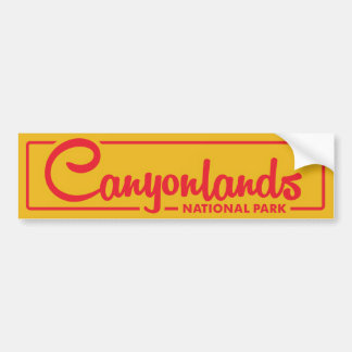 Canyonlands National Park Bumper Sticker