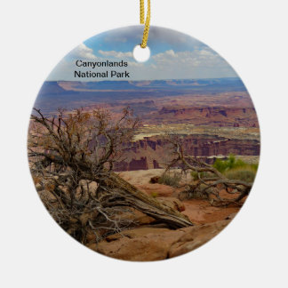 Canyonlands National Park ceramic ornament