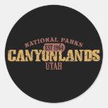 Canyonlands National Park Classic Round Sticker