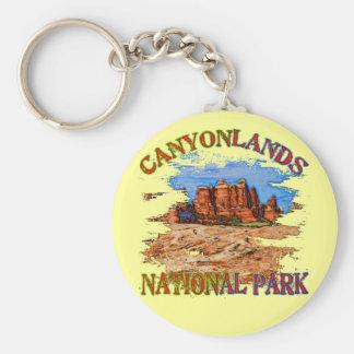 Canyonlands National Park Keychain