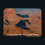 "Canyonlands National Park Magnet<br><div class=""desc"">Colorado river,  Shadows and canyons,  Canyonlands National Park,  Utah</div>"