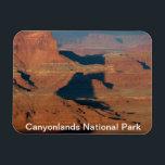 """Canyonlands National Park Magnet<br><div class=""""desc"""">Colorado river,  Shadows and canyons,  Canyonlands National Park,  Utah</div>"""