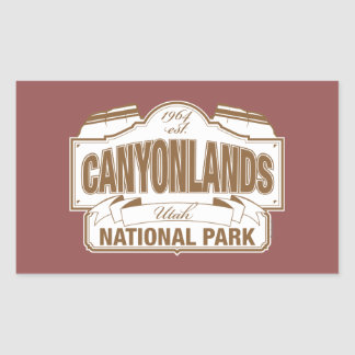Canyonlands National Park Rectangular Sticker