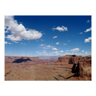 Canyonlands National Park Scenic Photo Poster