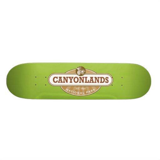 Canyonlands National Park Skate Board