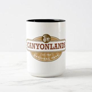 Canyonlands National Park Two-Tone Coffee Mug