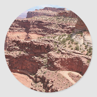 Canyonlands National Park, Utah, Southwest USA 3 Classic Round Sticker