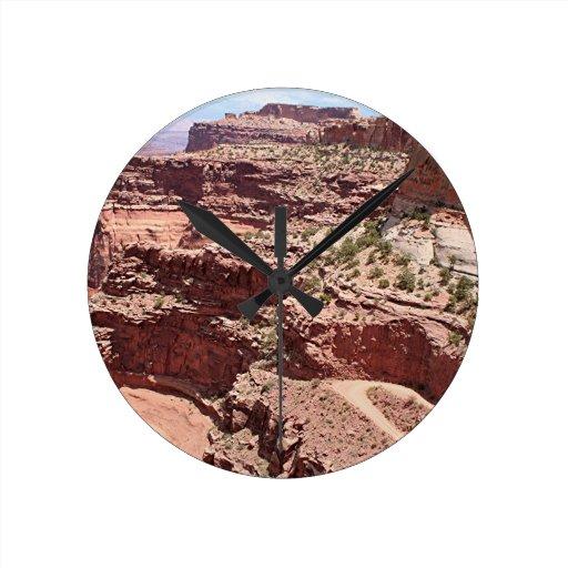 Canyonlands National Park, Utah, Southwest USA 3 Round Wall Clock