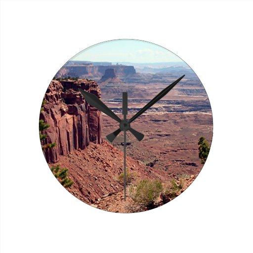 Canyonlands National Park, Utah, Southwest USA 4 Round Wallclock