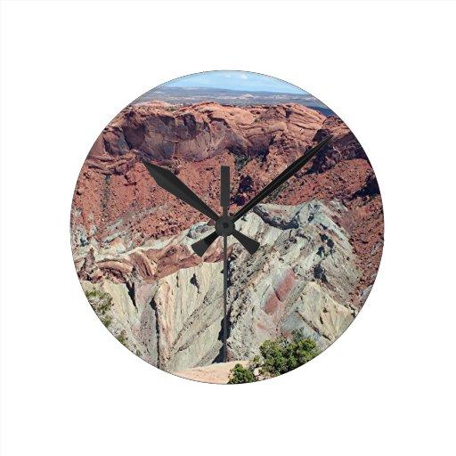 Canyonlands National Park, Utah, Southwest USA 5 Wall Clocks